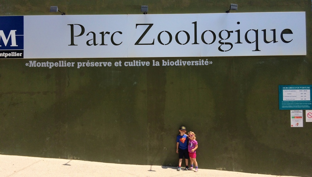 Parc Zoologique in Montpellier, France