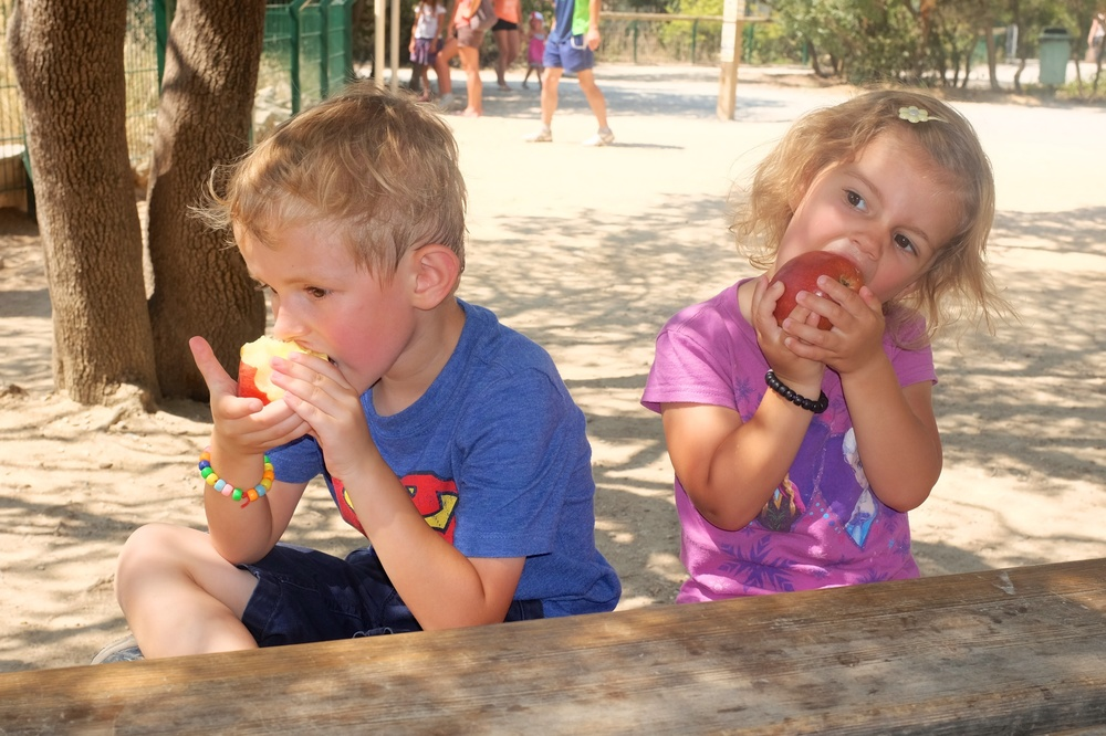 Apple eaters :)