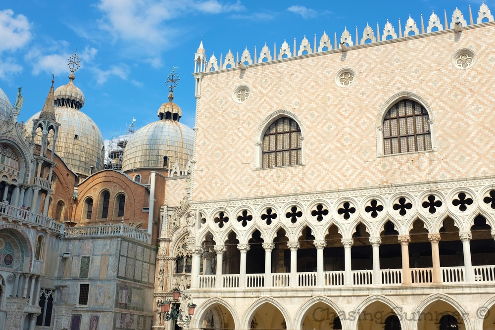 Incredible architecture of the Doges Palace