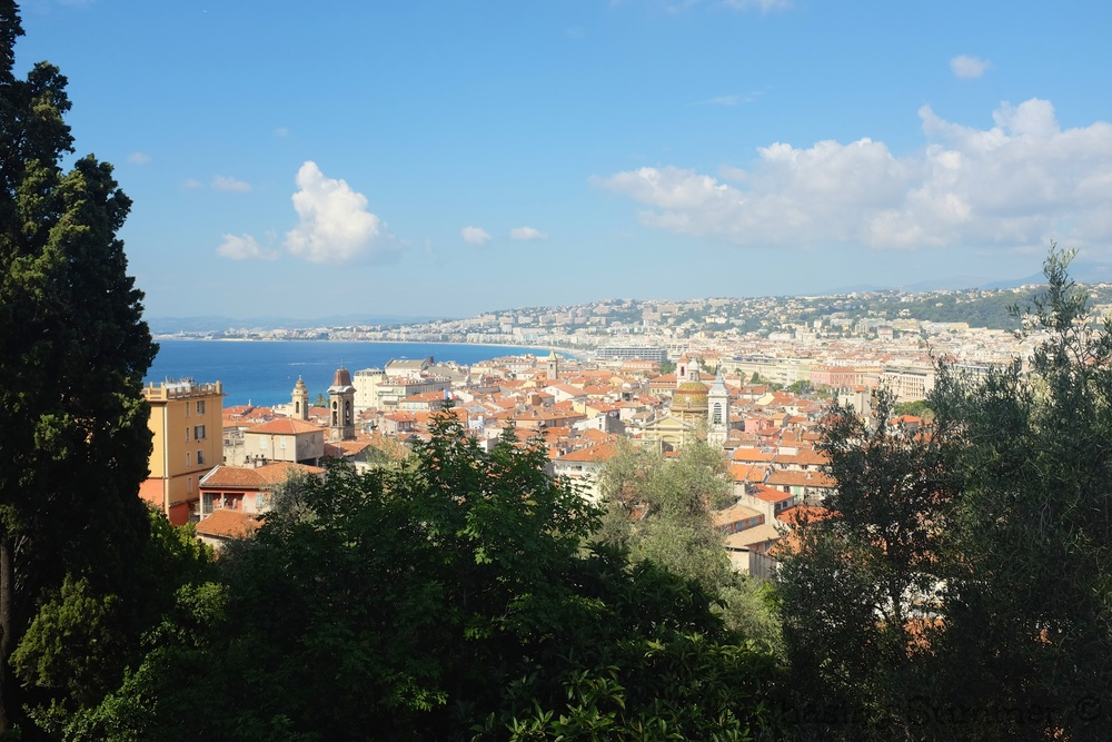 View of Nice's roof tops