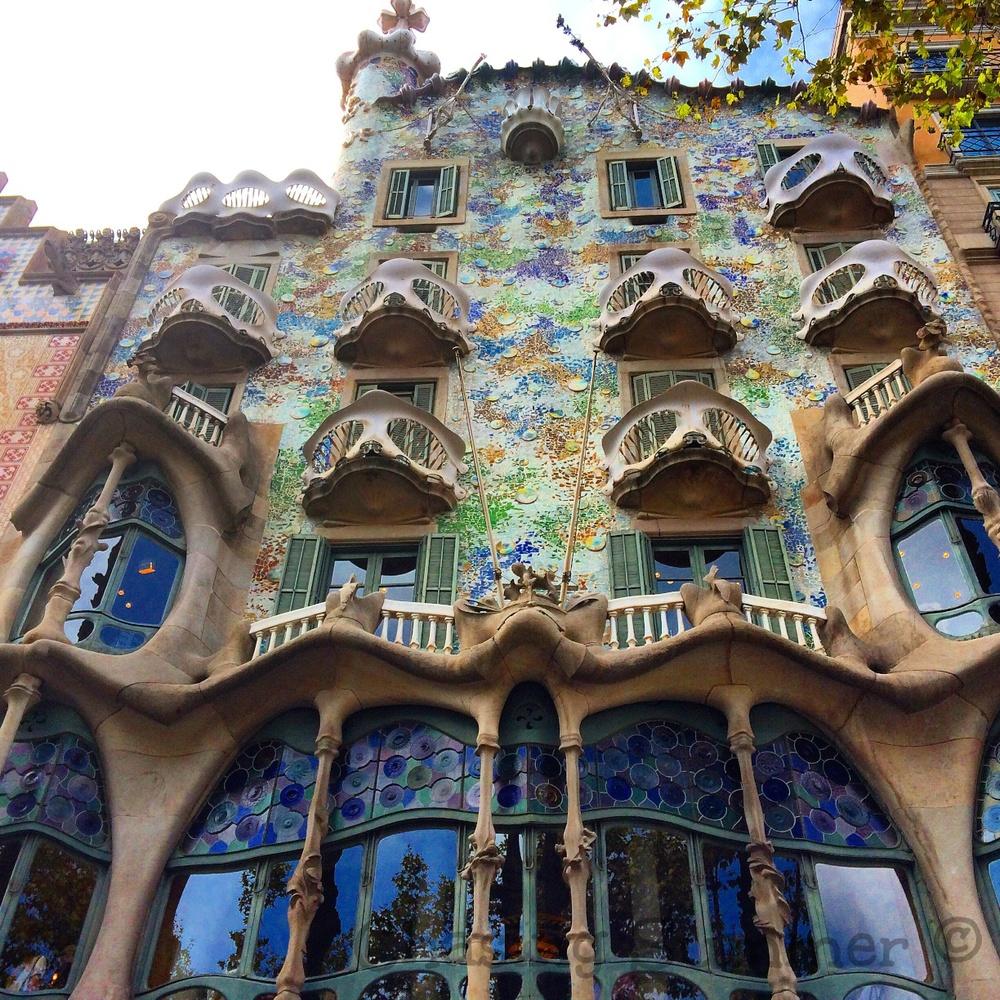Casa Batllo's facade