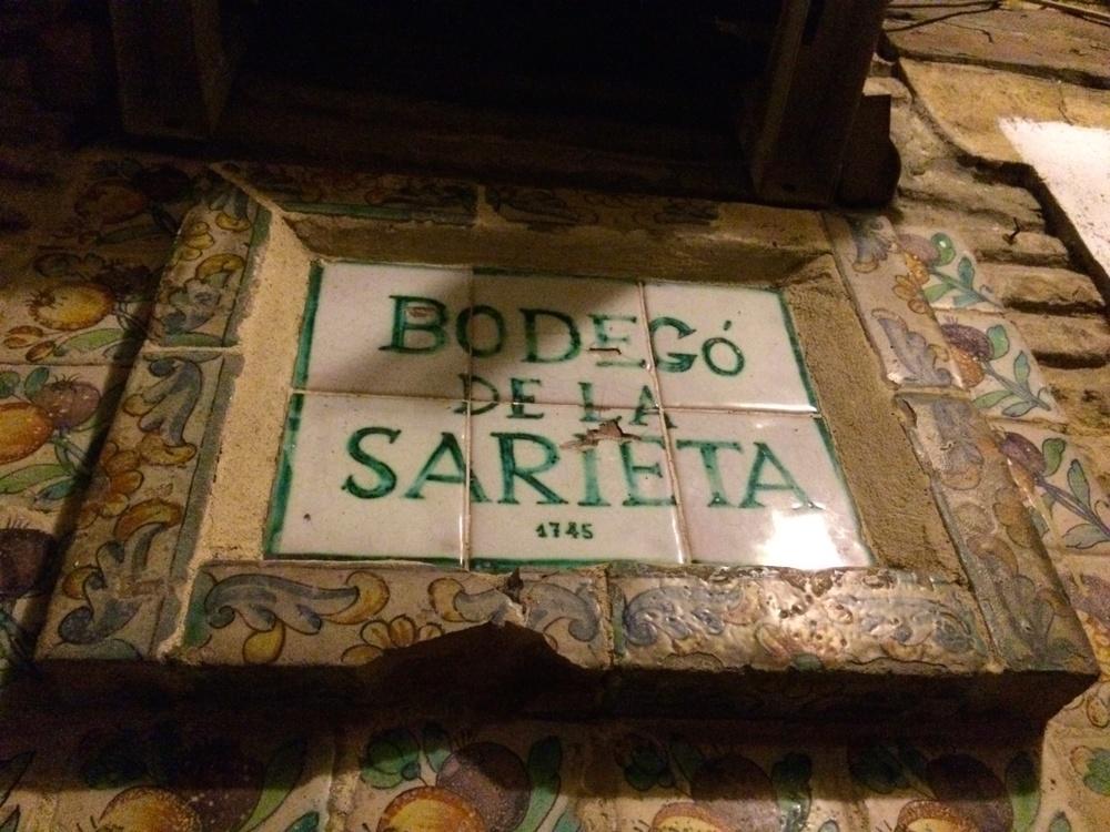 Bodego de la Sarieta