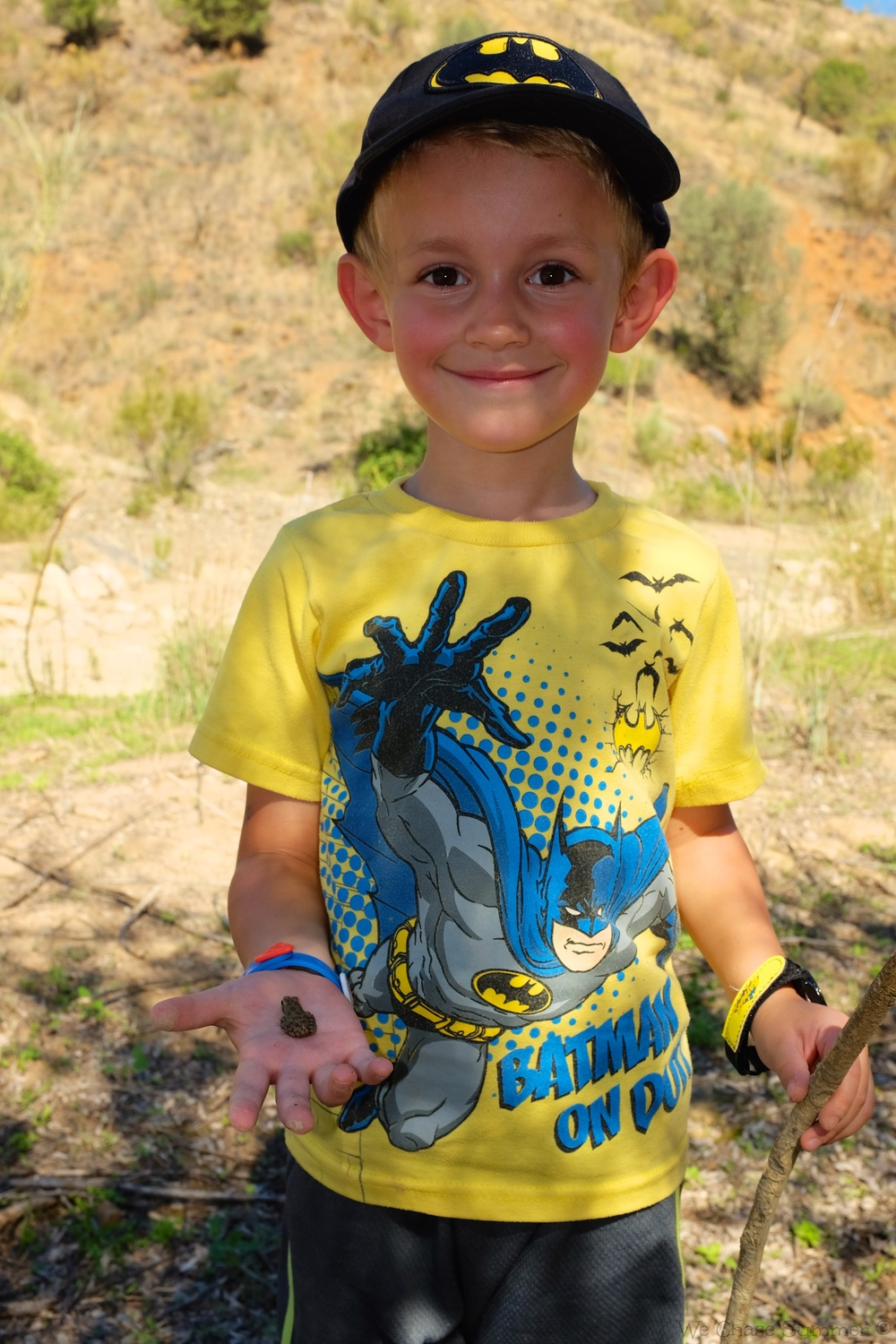 Kian and the frog