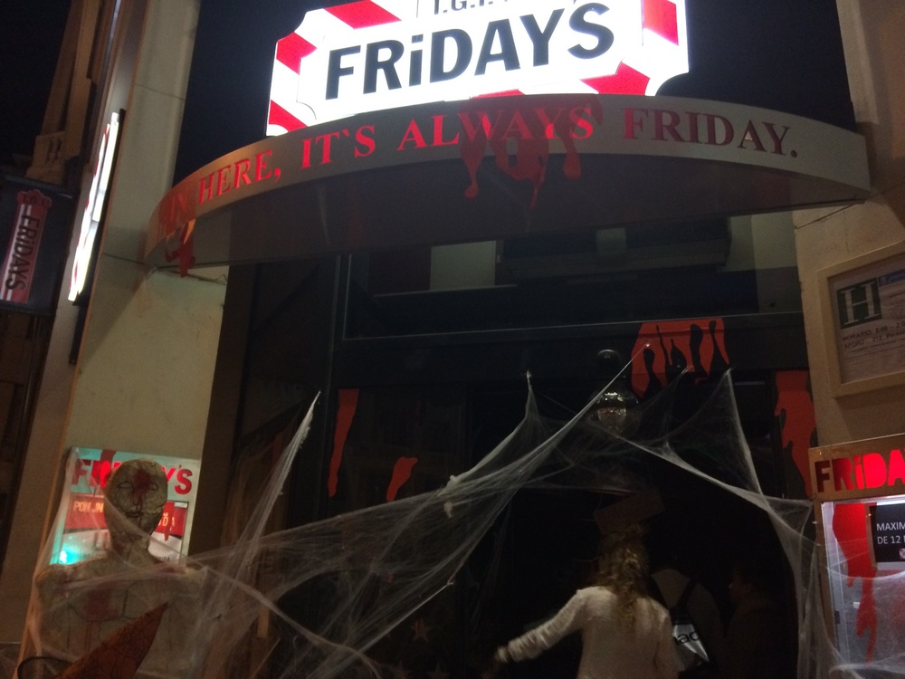 Halloween at TGI Fridays