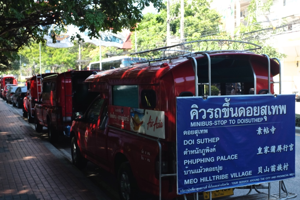 Taxis to Doi Suthep