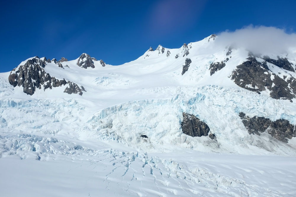 Top of Franz Josef Glacier