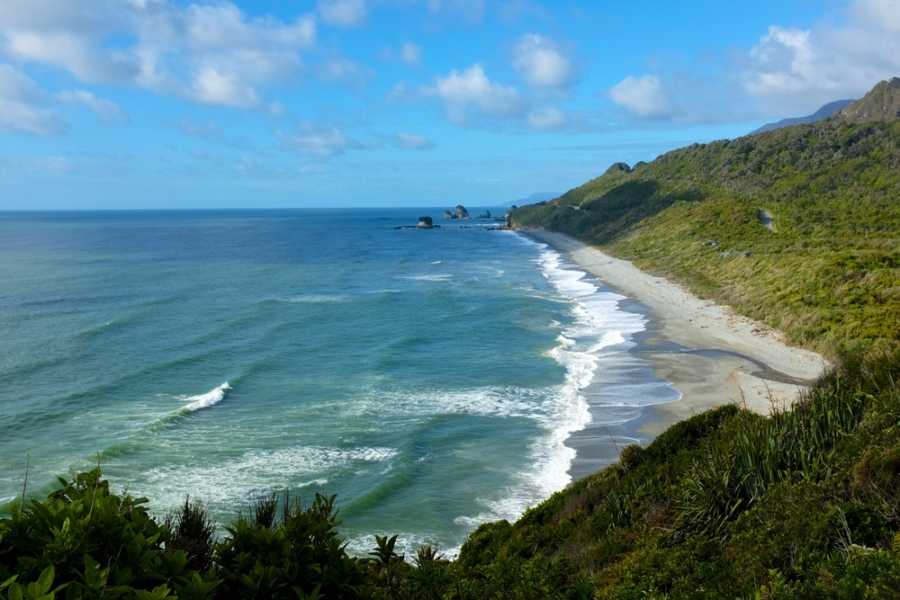 On the road to Punakaiki