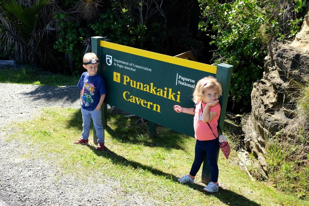Punakaiki Caverns