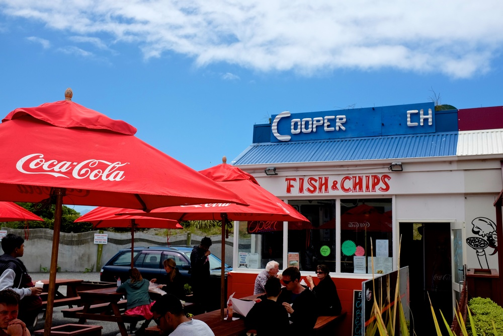 Cooper's Fish and Chips Kaikoura