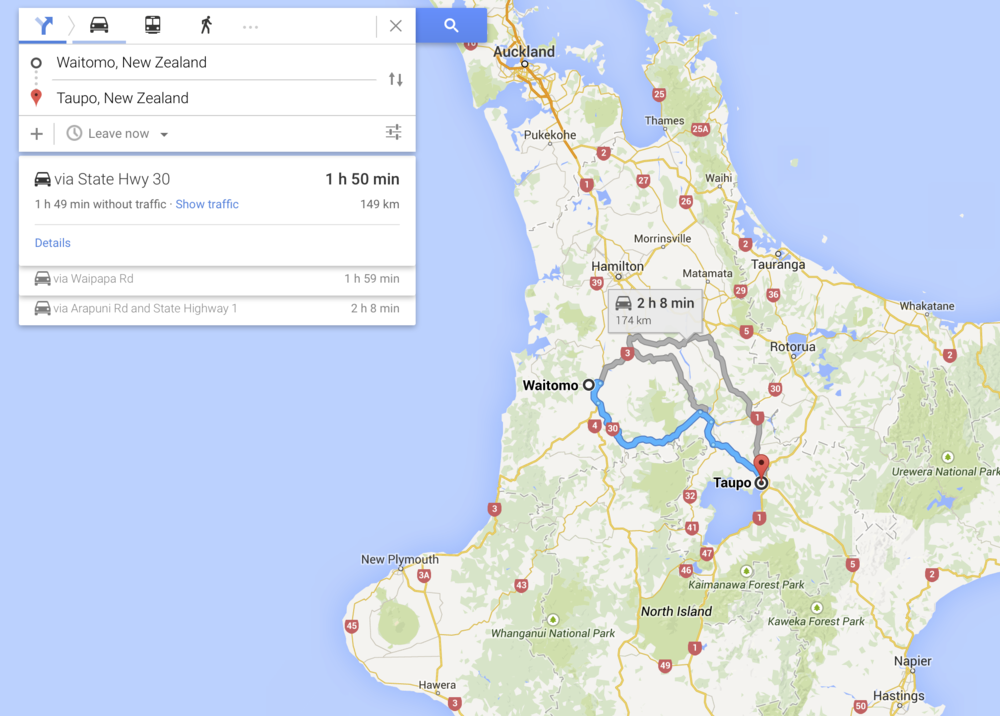 North Island Road Trip: Day Two