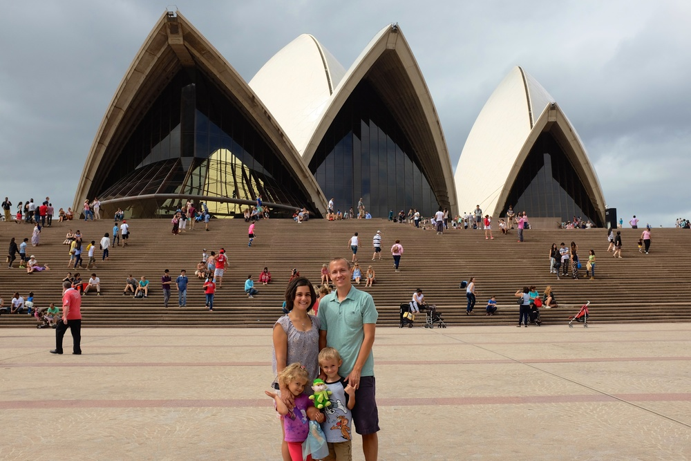 Sightseeing in Sydney
