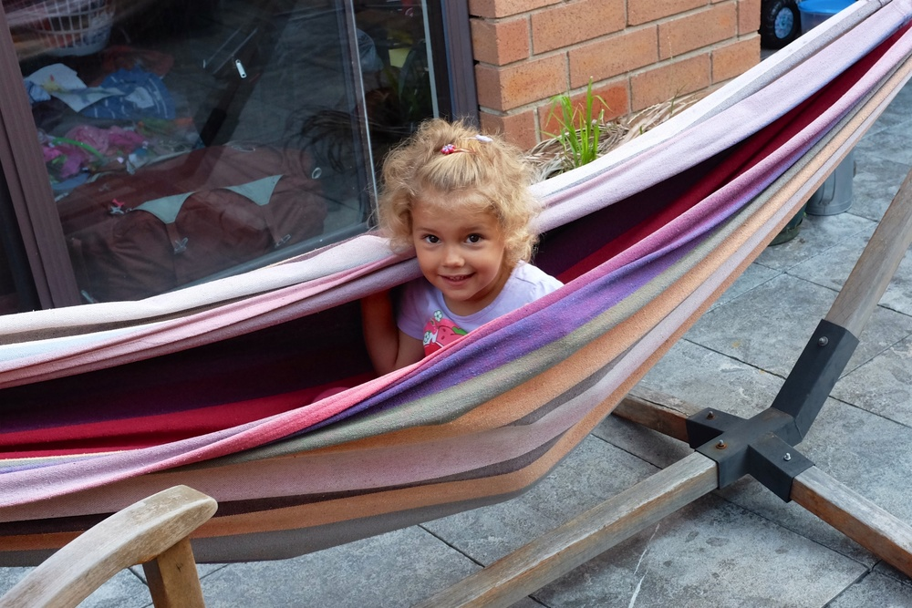 Hannah on the Hammock