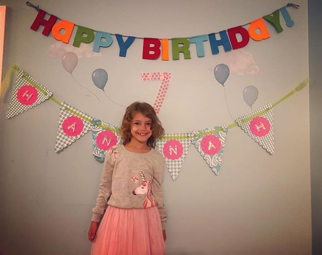 This sweet girl is 7 today!! 💕💕💕💕💕💕💕💕She is full of personality and love. She questions everything (which can drive a mama crazy at times) and though she may not know it she is already an advocate for women by observing and questioning equality...in small ways today but I am sure in much much bigger ways in days to come. Shine bright sweet love. 💕