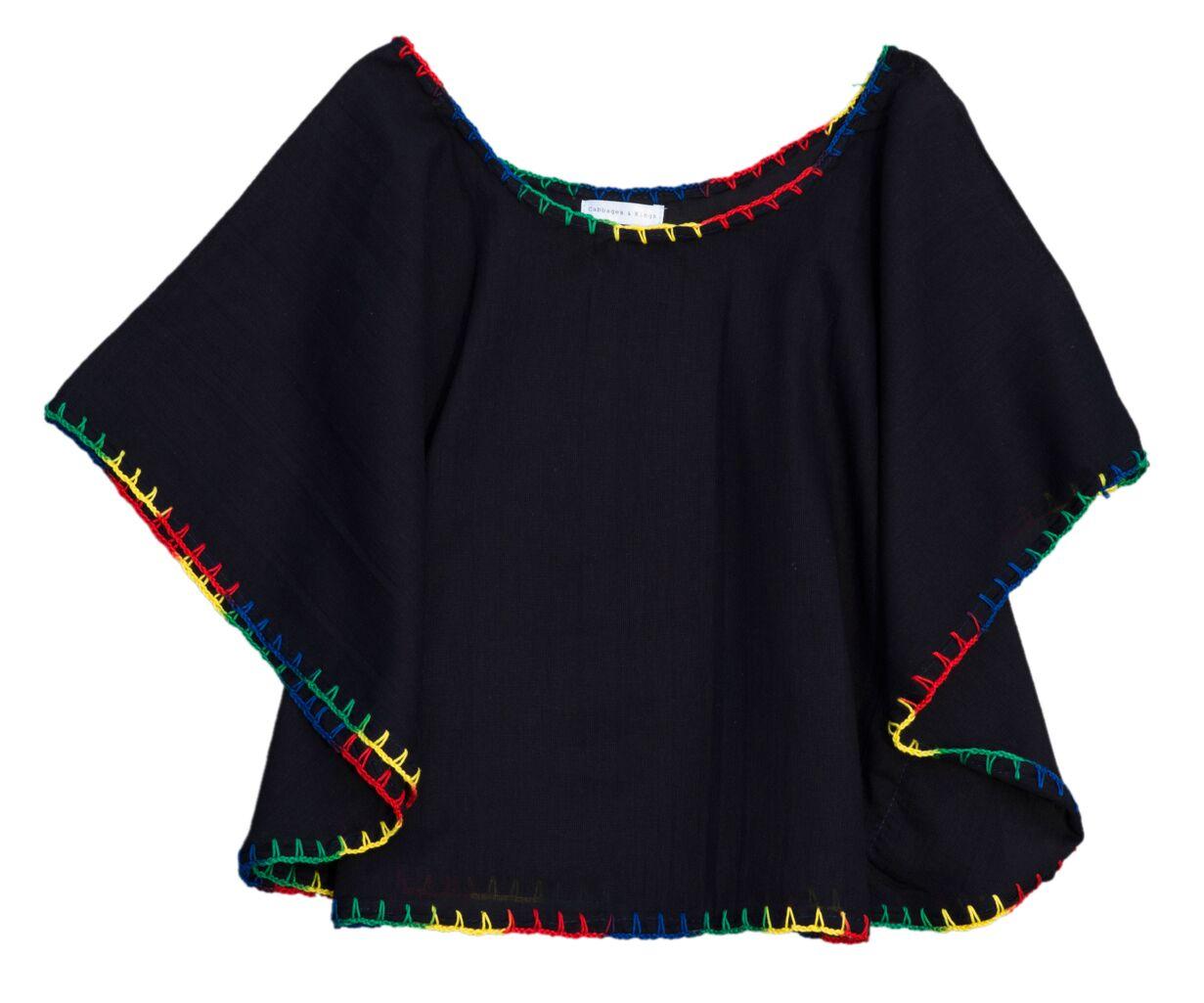 845d13cbaad5 black rainbow hand-stitch blouse cotton kids cabbages & kings ny still.jpg