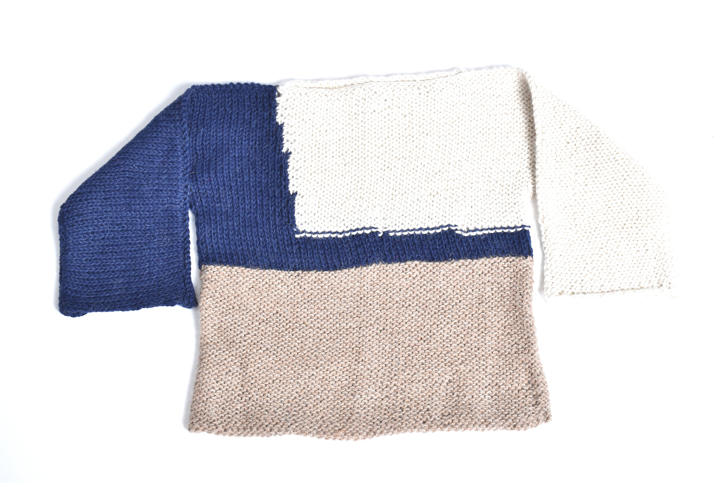67927d815 Alpaca Color-Block Sweater  Navy Cream Oatmeal — Cabbages   Kings NY