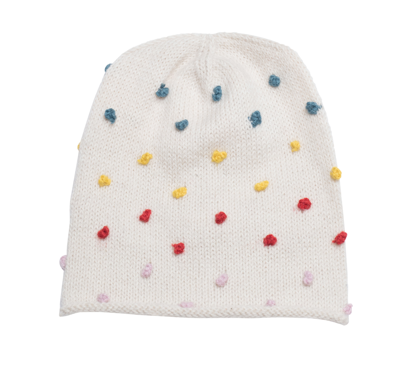 Candy Dot Beanie Hat  Rainbow — Cabbages   Kings NY 76f895ffa47