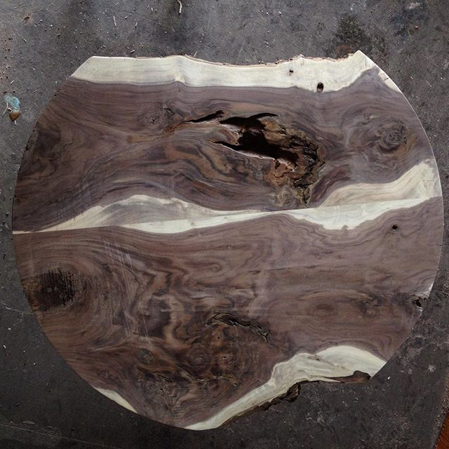 """Looking forward to seeing this piece come to life. 40"""" walnut table top ."""