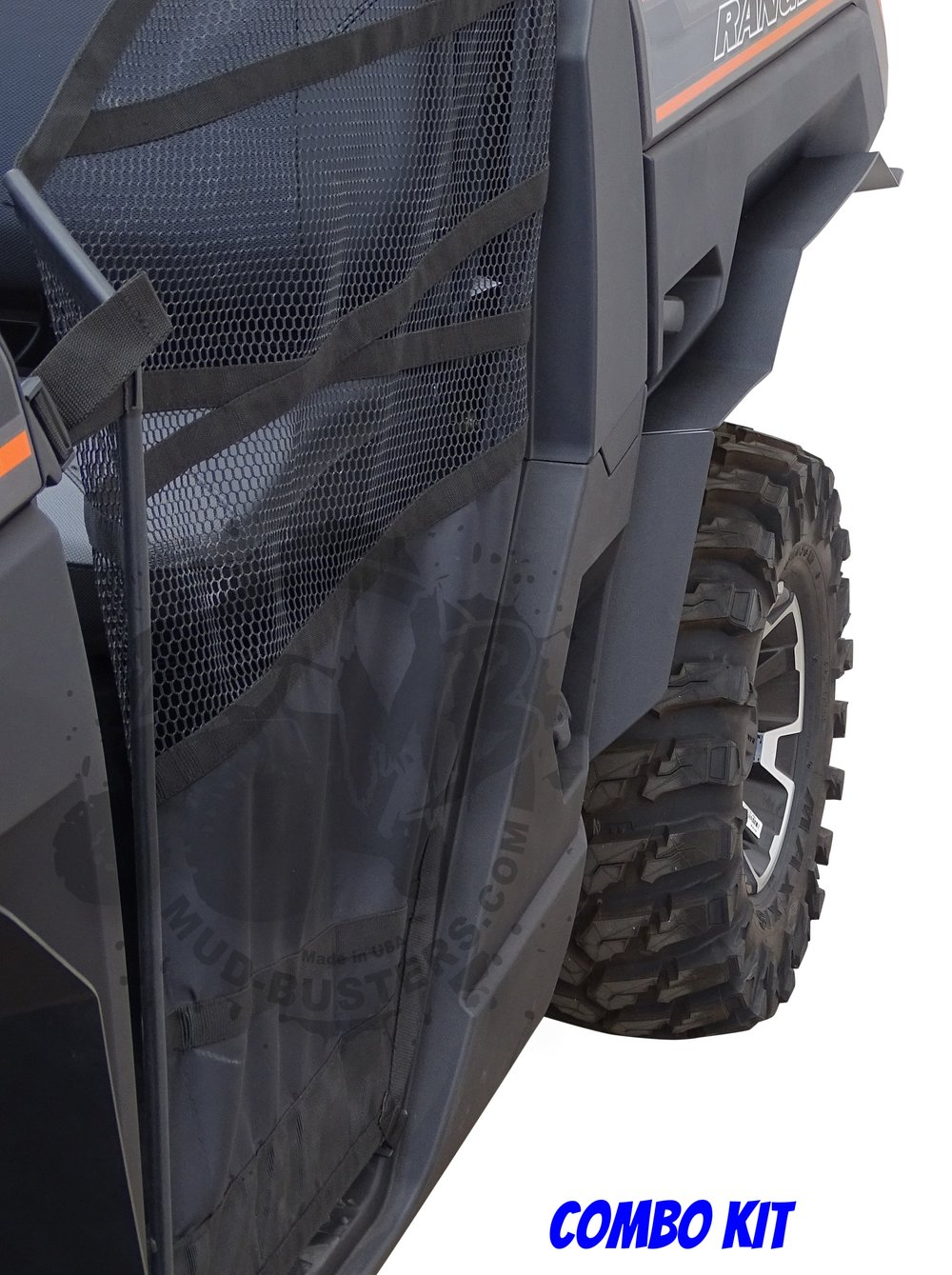 A-Premium UTV Mud Flaps Fender Flares For Polaris RZR XP 1000 RZR XP 4 1000 2014 2015 2016 2017 2018 with Installation Instruction 4-PC Set
