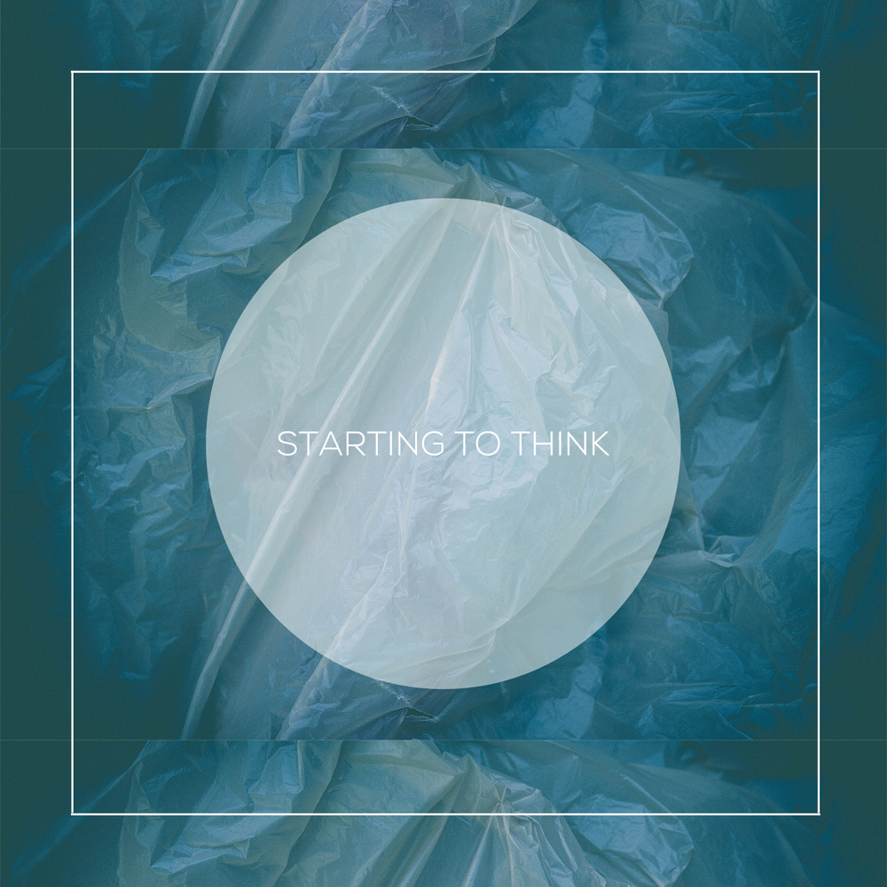 "Single Art for Kiings x Colin Plant's ""Starting To Think""."