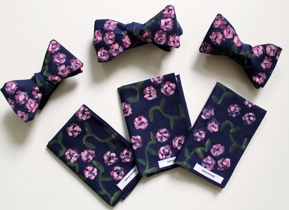 edward kwan hand painted bow ties pocket squares melbourne australia.JPG