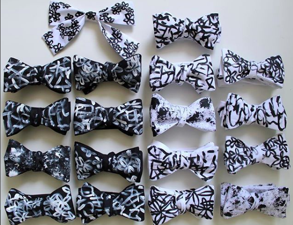 hand painted bow ties melbourne australia edward kwan