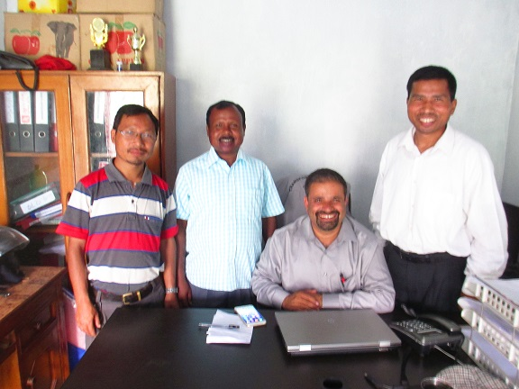 Leaders of Transformation Nepal team