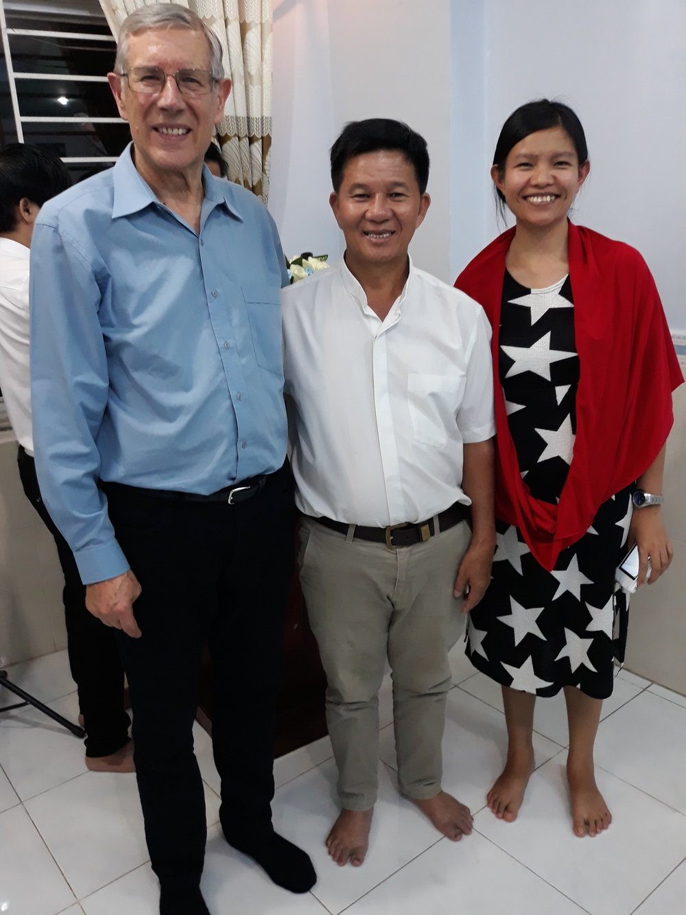 Ps David, Kinh & Amabel  July 2018
