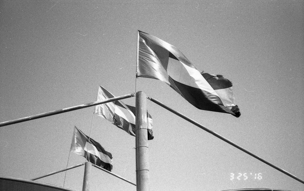 Camera: Yashica T5|  Film: BERGGER BRF400 Plus|  Developed in ILFORD Ilfosol-3, 8.30 mins @ 20˙C|  Scan: Epson Perfection V550|  Location: Dubai, UAE