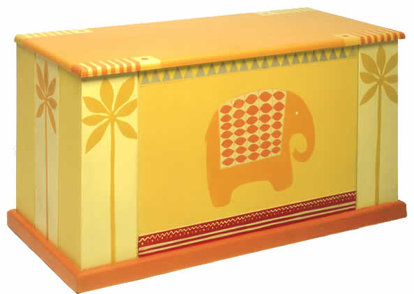 Elephant blanket box