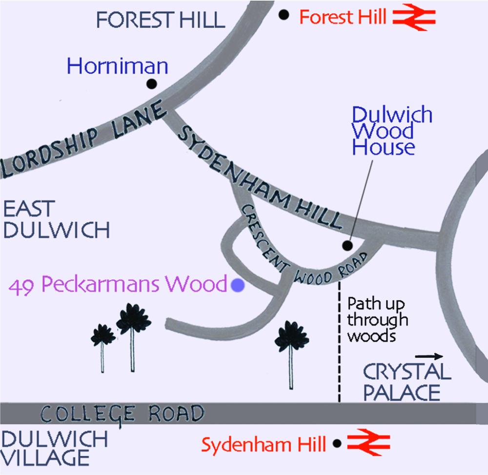 Sarah Hamilton Map