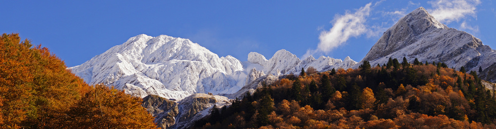 Pyrenees in Autumn