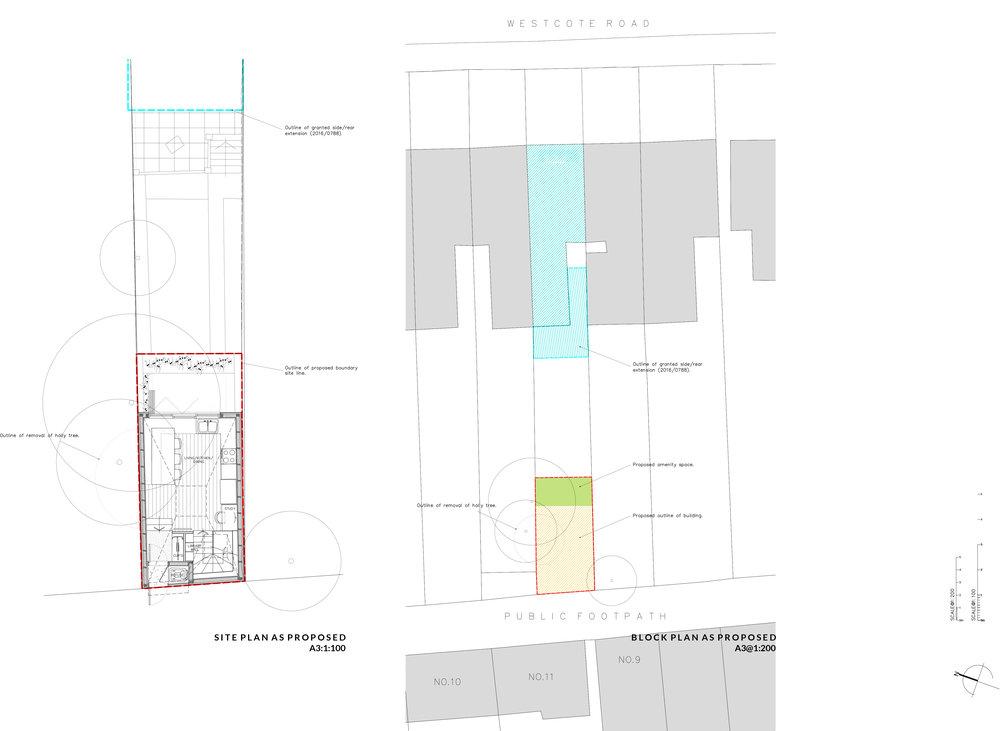 SITE + BLOCK PLAN