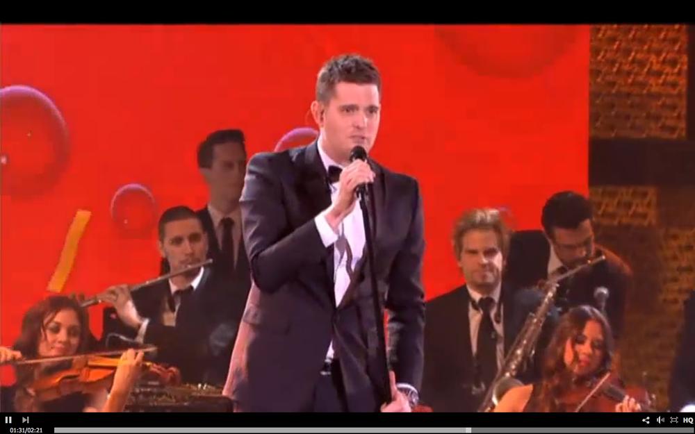 Airlie Koo's Australian Pop Quartet performs with Michael Buble