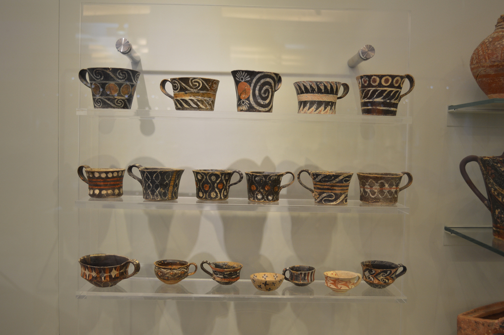 3500 years old ceramics on par with everything produced today.