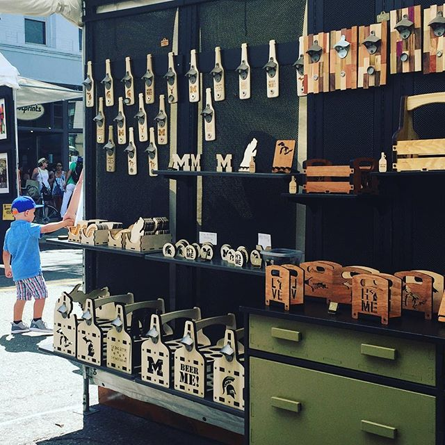 Don't forget your #beerme @annarborartfair #craftbeer #lovebeer #gifts from @g3studios booth #368 on #main street North of Liberty #shopdowntown #annarbor #goblue #spartan #uofm #annarborartfair