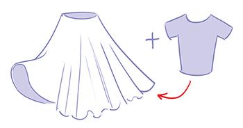 Hoe maak je een retro bloemenjurk the dressyourdoll blog - Hoe een lange gang te plannen ...