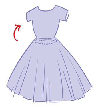 Hoe maak je een retro bloemenjurk the dressyourdoll blog - Maak een dressing ...