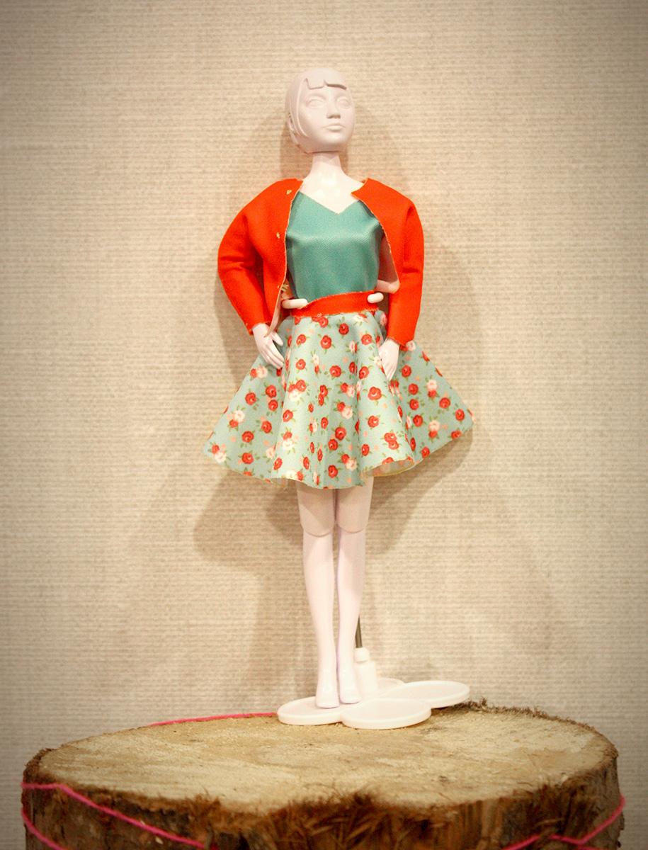 Een vrolijke outfit!