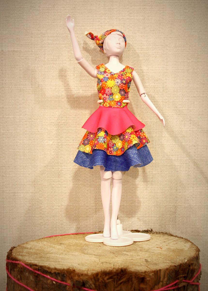 Een fleurige jurk!