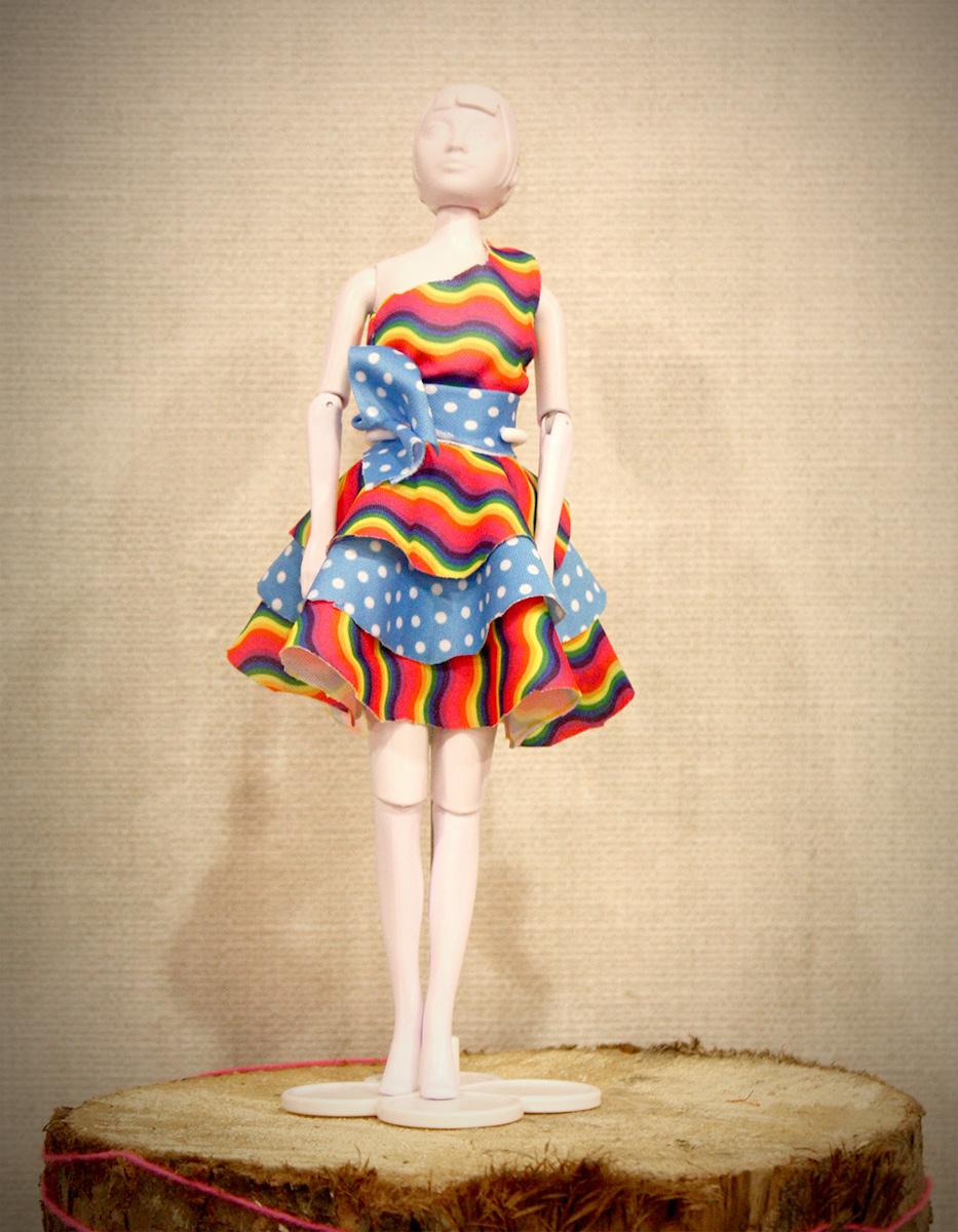 Een superleuke jurk!