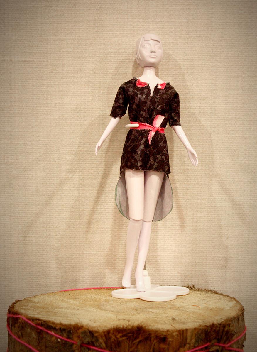 Een heel hippe jurk!