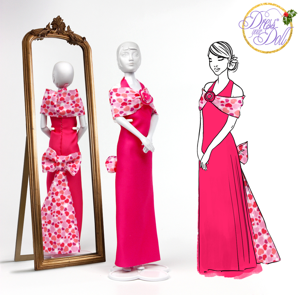 How to make... this elegant pink gown! — the DressYourDoll blog