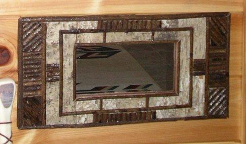 Frames & Mirrors — Birch & Stick Frame Mirror — Woodland Things