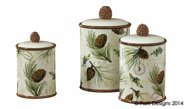 Woodland Pine Cone Canister Set  sc 1 st  Woodland Things & Kitchen u2014 Woodland Pine Cone Canister Set u2014 Woodland Things