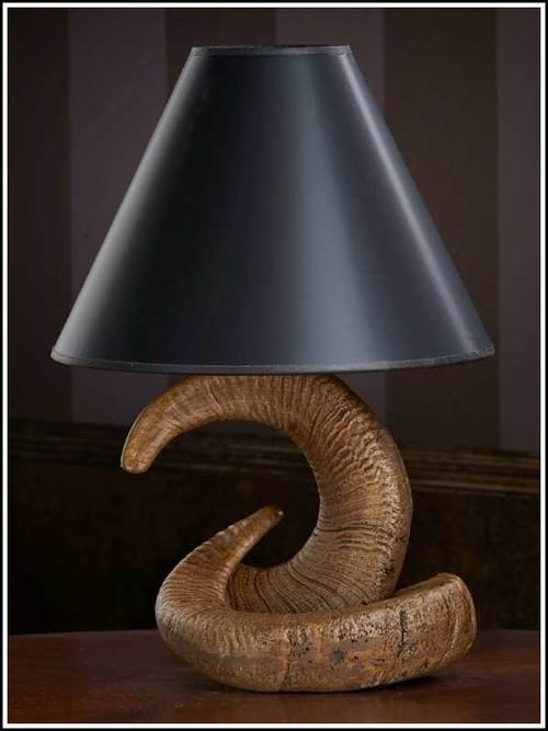 Lamps rocky mountain ram horn table lamp woodland things rocky mountain ram horn table lamp aloadofball Image collections