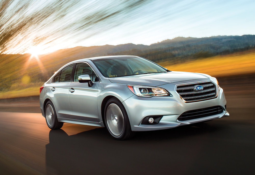 Subaru Legacy - Website for the launch of the 2017 Subaru Legacy