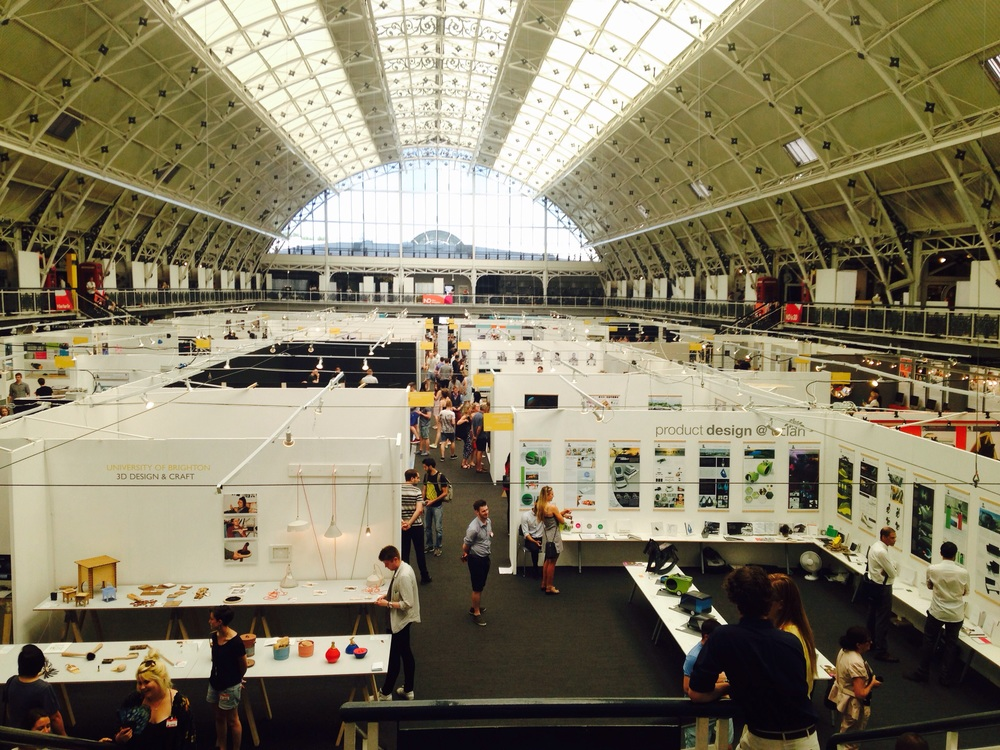 New Designers 2015, The Design Business Centre, Angel, London