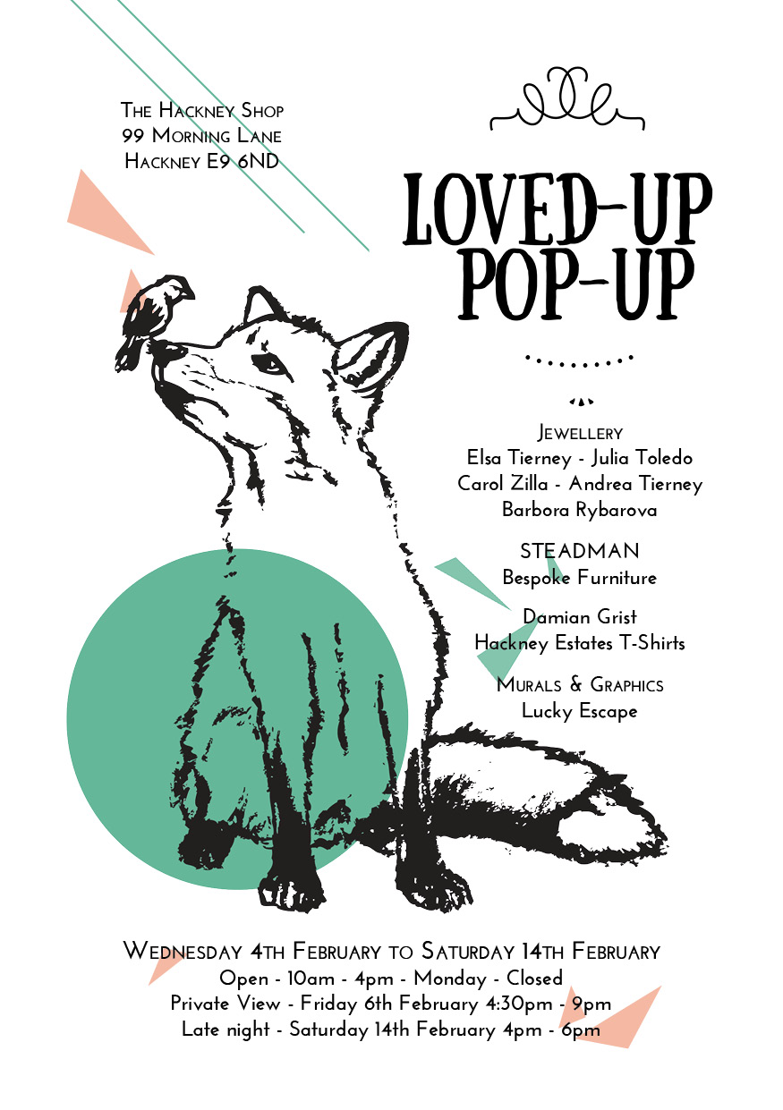 Loved-Up Pop-Up Flyer