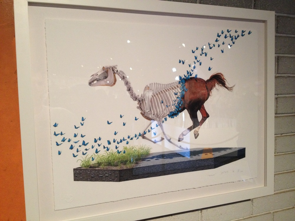 Work by Josh Keyes