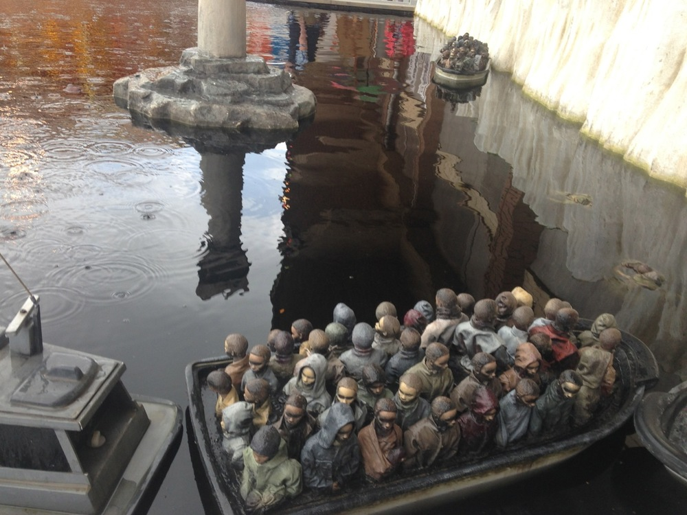 Migrant Boats by Banksy